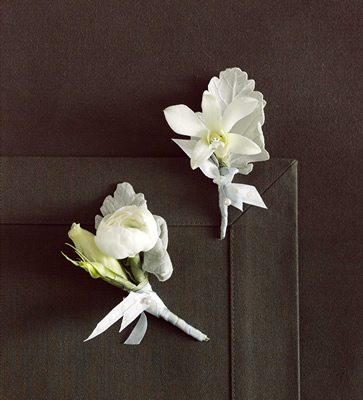 boutinnieres Portland Oregon Wedding Flowers